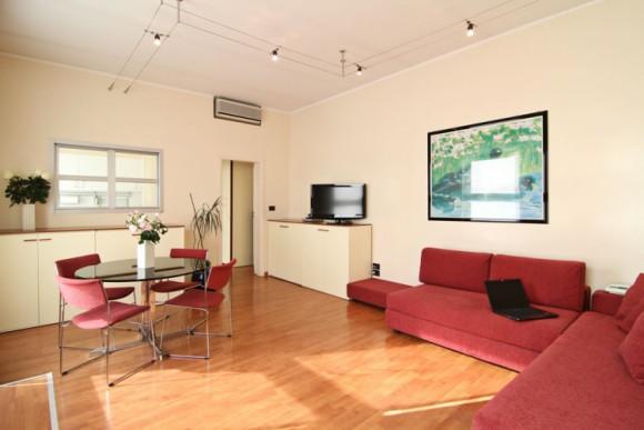 Appartamento deluxe residence torino for Appartamenti arredati torino