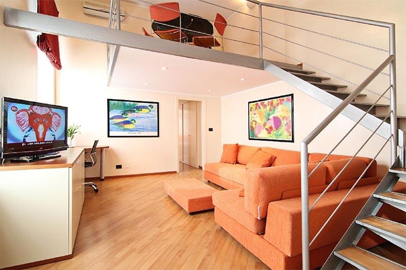 Deluxe di design al Residence Sacchi